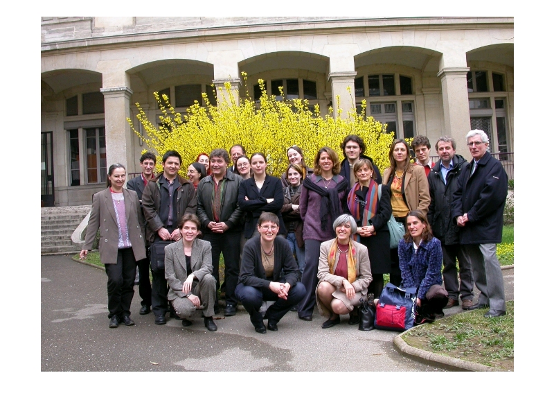 Photo de groupe - Lyon, mars 2004